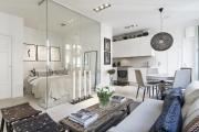 Фото 5 Советы дизайнеров: как спланировать зонирование и интерьер спальни-гостиной на 17 кв. м