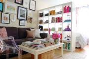 Фото 7 Советы дизайнеров: как спланировать зонирование и интерьер спальни-гостиной на 17 кв. м