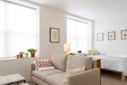Фото 15 Советы дизайнеров: как спланировать зонирование и интерьер спальни-гостиной на 17 кв. м