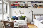 Фото 16 Советы дизайнеров: как спланировать зонирование и интерьер спальни-гостиной на 17 кв. м