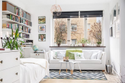 Фото 19 Советы дизайнеров: как спланировать зонирование и интерьер спальни-гостиной на 17 кв. м