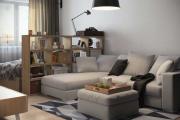Фото 21 Советы дизайнеров: как спланировать зонирование и интерьер спальни-гостиной на 17 кв. м