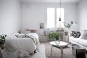 Фото 27 Советы дизайнеров: как спланировать зонирование и интерьер спальни-гостиной на 17 кв. м