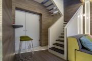 Фото 16 П-образная лестница на второй этаж (60+ фото): стильные дизайнерские лестницы в интерьерах 2019 года