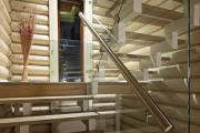 Фото 19 П-образная лестница на второй этаж: виды конструкций и особенности выбора материалов
