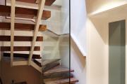 Фото 21 П-образная лестница на второй этаж (60+ фото): стильные дизайнерские лестницы в интерьерах 2019 года