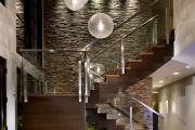 Фото 24 П-образная лестница на второй этаж: виды конструкций и особенности выбора материалов