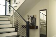 Фото 30 П-образная лестница на второй этаж: виды конструкций и особенности выбора материалов