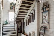 Фото 26 П-образная лестница на второй этаж (60+ фото): стильные дизайнерские лестницы в интерьерах 2019 года