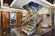 Фото 28 П-образная лестница на второй этаж (60+ фото): стильные дизайнерские лестницы в интерьерах 2019 года