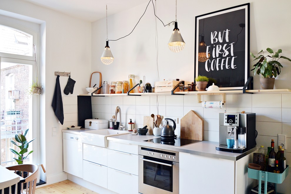 Прямая кухня 4 метра Варианты стильных гарнитуров