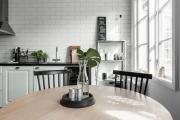 Фото 9 Нюансы выбора прямой кухни 4 метра: обзор вариантов и советы дизайнеров