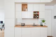 Фото 11 Нюансы выбора прямой кухни 4 метра: обзор вариантов и советы дизайнеров