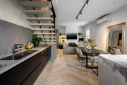 Фото 20 Нюансы выбора прямой кухни 4 метра: обзор вариантов и советы дизайнеров