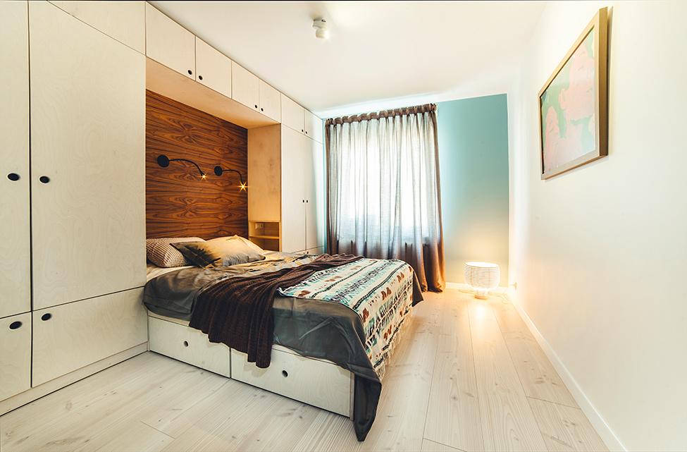 Дизайн спальни 14 кв