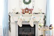 Фото 1 Как украсить комнату на Новый год 2021: 60+ невероятно уютных идей праздничного декора