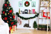 Фото 27 Как украсить комнату на Новый год: 60+ невероятно уютных идей праздничного декора