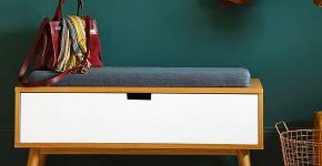 Комфорт с первого шага: как выбрать идеальную банкетку с сиденьем в прихожую? фото