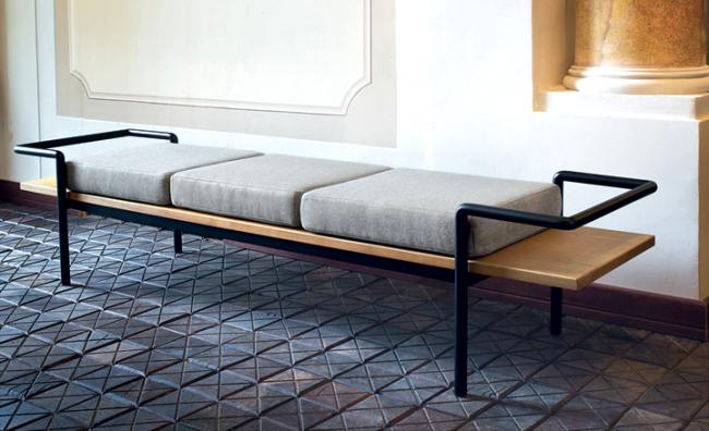 Мебель с металлическим каркасом прослужит очень долго