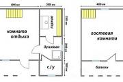 Фото 28 Баня 6х6 метров с мансардой: современные готовые проекты и этапы строительства