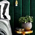 Интерьер бело-зеленой спальни: секреты гармоничных сочетаний и выбор декора фото