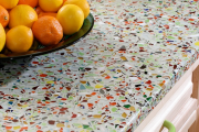 Фото 7 Бетонная столешница на кухне (80+ фото моделей): плюсы-минусы, уход и монтаж своими руками