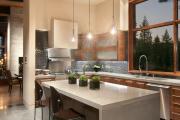 Фото 15 Бетонная столешница на кухне (80+ фото моделей): плюсы-минусы, уход и монтаж своими руками