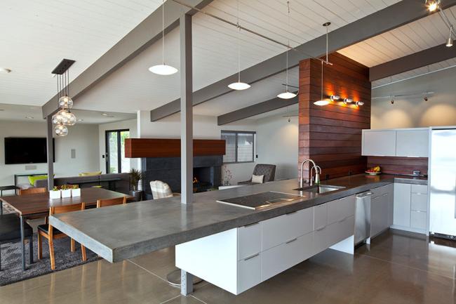 Интерьер квартиры-студии в современном стиле