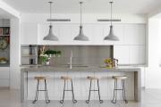 Фото 16 Бетонная столешница на кухне (80+ фото моделей): плюсы-минусы, уход и монтаж своими руками