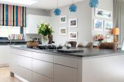 Фото 22 Бетонная столешница на кухне (80+ фото моделей): плюсы-минусы, уход и монтаж своими руками