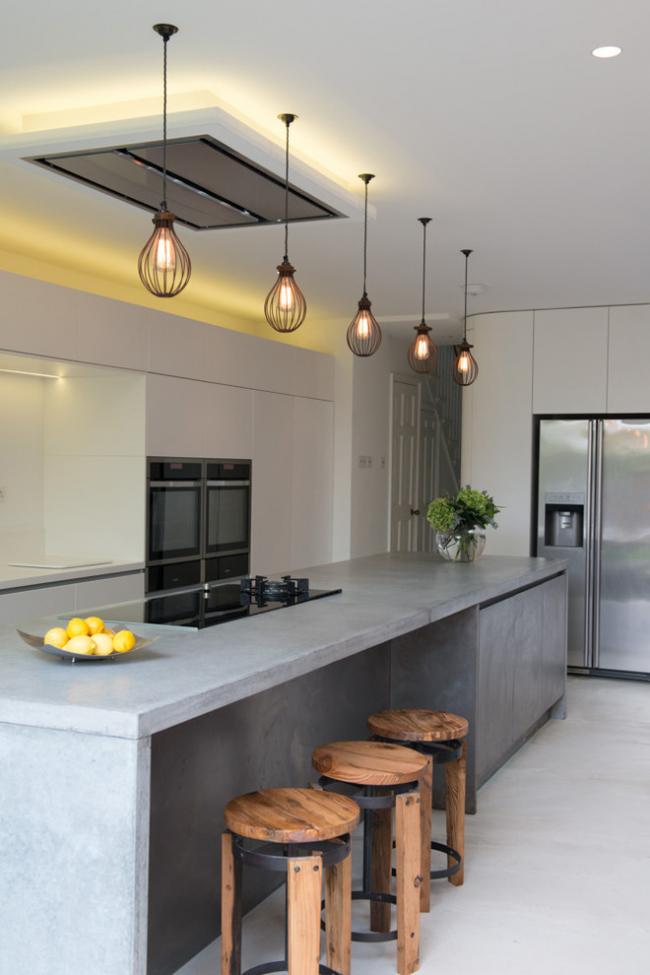 Изделия из бетона помогут создать стиль лофт