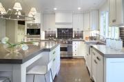 Фото 23 Бетонная столешница на кухне (80+ фото моделей): плюсы-минусы, уход и монтаж своими руками