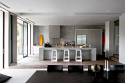Фото 25 Бетонная столешница на кухне (80+ фото моделей): плюсы-минусы, уход и монтаж своими руками