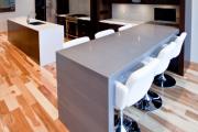 Фото 4 Бетонная столешница на кухне (80+ фото моделей): плюсы-минусы, уход и монтаж своими руками