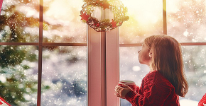 Как украсить окно на Новый год 2021? Подборка идей и простых мастер-классов своими руками фото