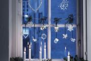 Фото 8 Как украсить окно на Новый год? Подборка идей и простых мастер-классов своими руками