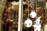Фото 22 Как украсить окно на Новый год? Подборка идей и простых мастер-классов своими руками