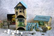 Фото 1 Декупаж чайного домика: простые в исполнении мастер-классы и советы рукодельниц