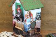 Фото 14 Декупаж чайного домика (85+ фото): простые в исполнении мастер-классы и советы рукодельниц