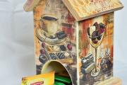 Фото 18 Декупаж чайного домика: простые в исполнении мастер-классы и советы рукодельниц