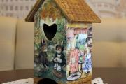 Фото 19 Декупаж чайного домика (85+ фото): простые в исполнении мастер-классы и советы рукодельниц