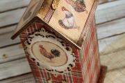 Фото 2 Декупаж чайного домика (85+ фото): простые в исполнении мастер-классы и советы рукодельниц