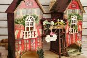 Фото 23 Декупаж чайного домика (85+ фото): простые в исполнении мастер-классы и советы рукодельниц