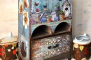 Фото 26 Декупаж чайного домика (85+ фото): простые в исполнении мастер-классы и советы рукодельниц