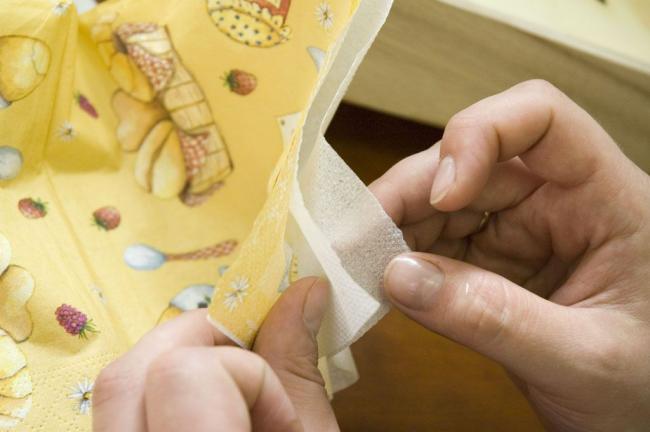 Трехслойная салфетка - идеальный материал для декупажа