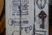 Фото 6 Варианты декупажа ключницы своими руками: 5 пошаговых мастер-классов