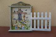 Фото 8 Варианты декупажа ключницы своими руками: 5 пошаговых мастер-классов