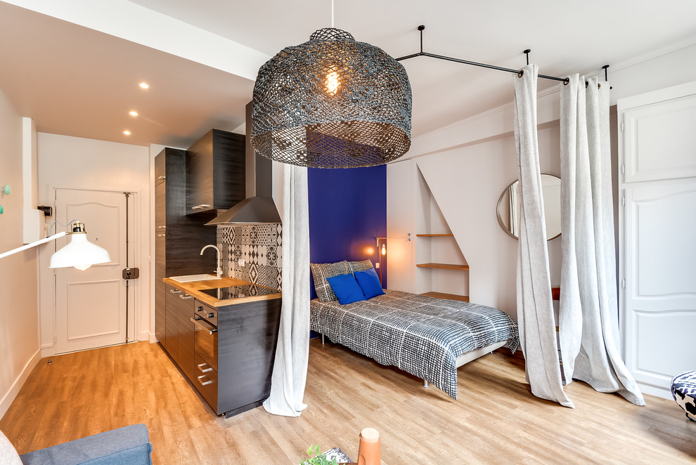 Дизайн квартиры-студии 30 кв м