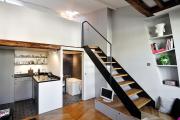 Фото 14 Дизайн студии площадью 30 кв. метров: современные проекты и продуманные планировки