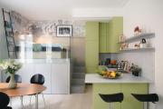 Фото 22 Дизайн студии площадью 30 кв. метров: современные проекты и продуманные планировки